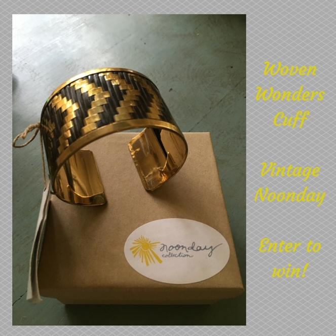 Noonday Cuff Giveaway