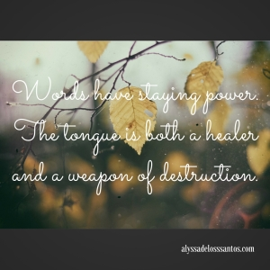 Words have staying power